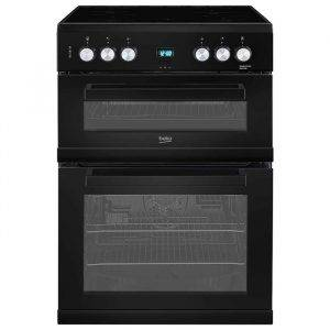 Beko EDC633K Electric Cooker with Double Oven with Grill 60cm
