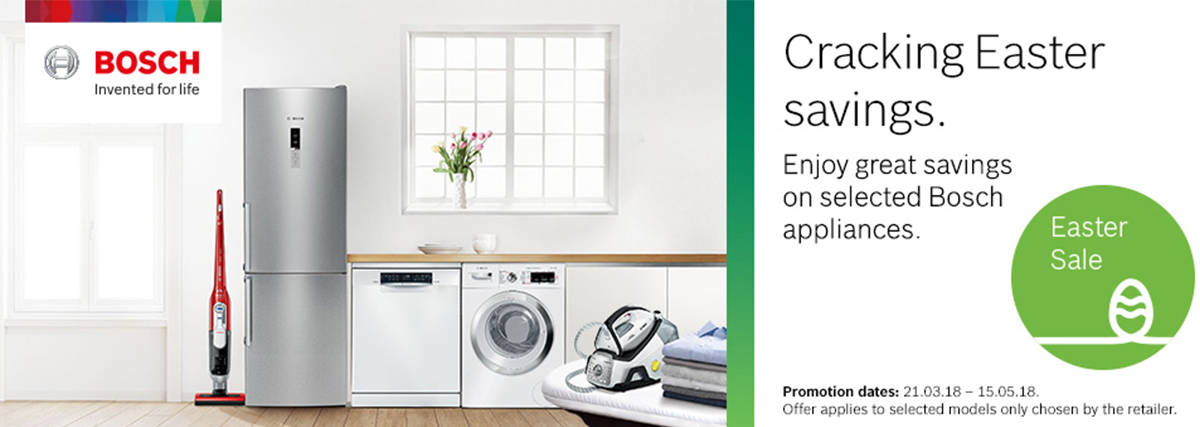 Easter Savings with Bosch