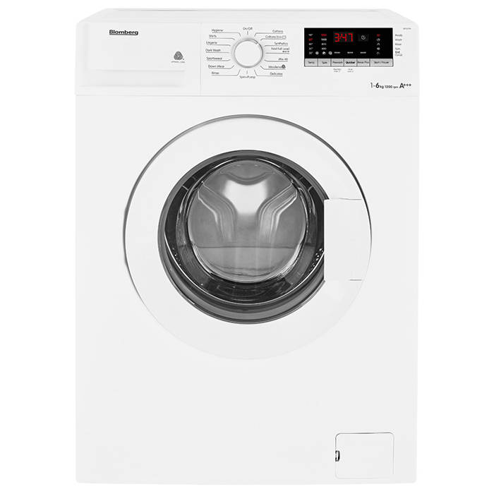 Blomberg Lbf1623w Washing Machine 6kg Load 1200 Spin
