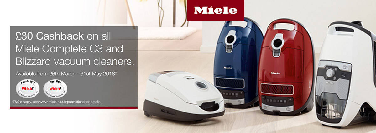 Miele Vacuum Cleaner Offer