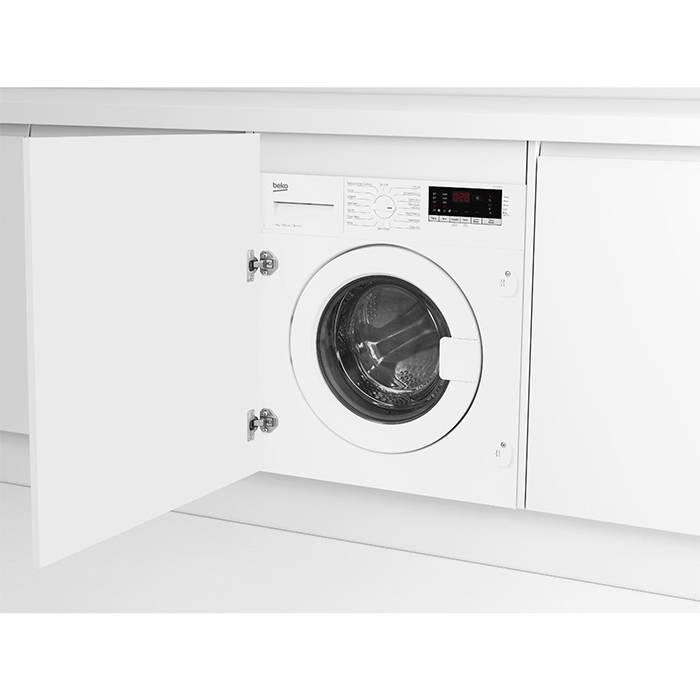 beko wic74545f2 built in washing machine 7kg load 1400. Black Bedroom Furniture Sets. Home Design Ideas
