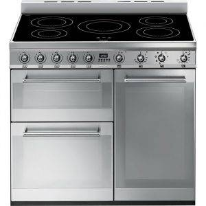 Smeg SY93I Symphony Cooker with 3 Cavities and Induction Hob 90cm