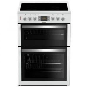 Blomberg HKN64W Electric Cooker with Double Oven, Ceramic Hob 60cm