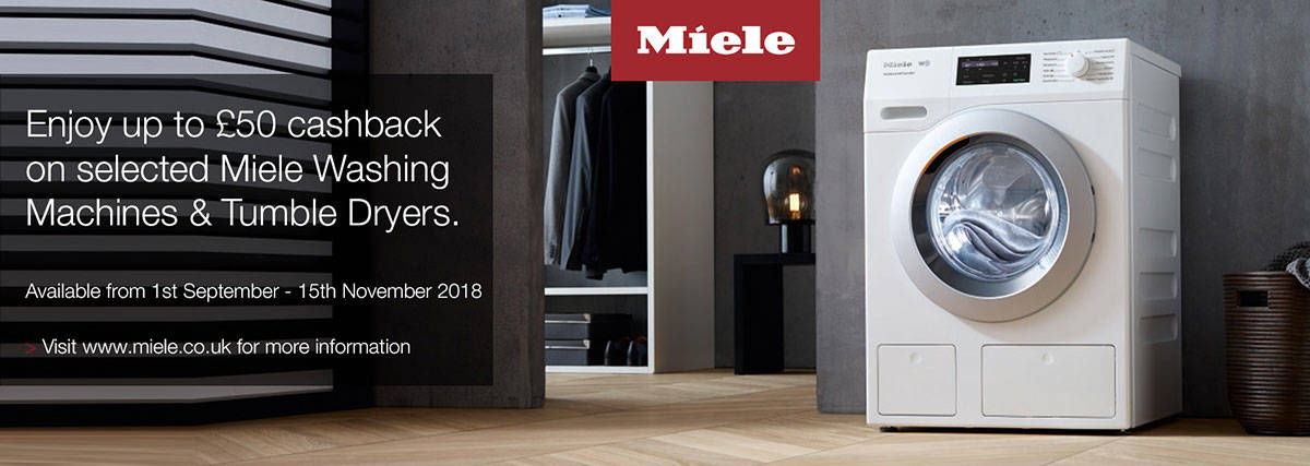 Miele laundry cashback offer