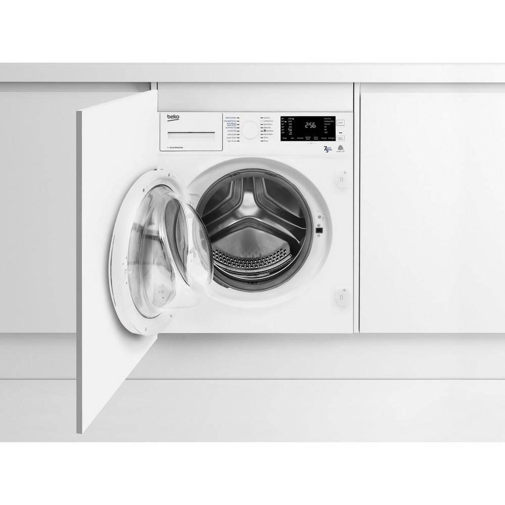 beko wdic752300f2 built in 1200 spin washer dryer gerald. Black Bedroom Furniture Sets. Home Design Ideas