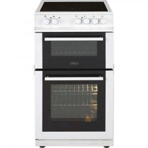 Belling FS50EDOFCWHI 50cm Double Oven Electric Cooker