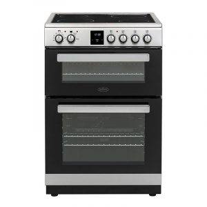 Belling FSE608DPC Electric Cooker Double Oven 60cm