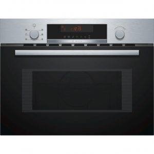 Bosch CMA583MS0B Built-in Microwave with hot air function