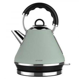 Linsar PK117 Green Electric Pyramid Cordless Kettle 1.7L