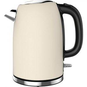 Linsar JK115 Cream Electric Jug Cordless Kettle 1.7L