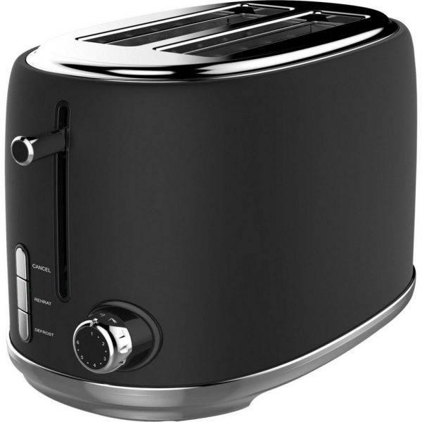 Linsar KY865 Black Toaster 2 Slice