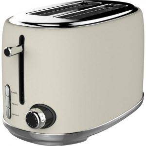 Linsar KY865 Cream Toaster 2 Slice
