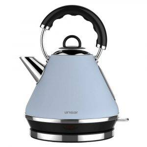 Linsar PK117 Blue Electric Pyramid Cordless Kettle 1.7L