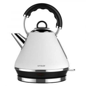 Linsar PK117 White Electric Pyramid Cordless Kettle 1.7L