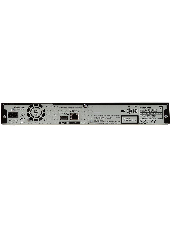 Panasonic DPUB320EBK 4K Ultra HD Blu-ray Player