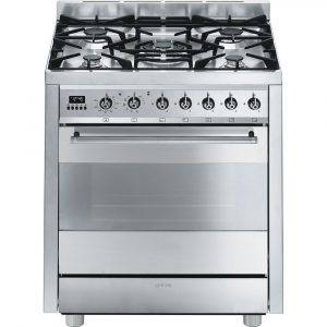 Smeg C7GPX8 70cm Dual Fuel Range Cooker With Pyrolytic Multifunction Oven