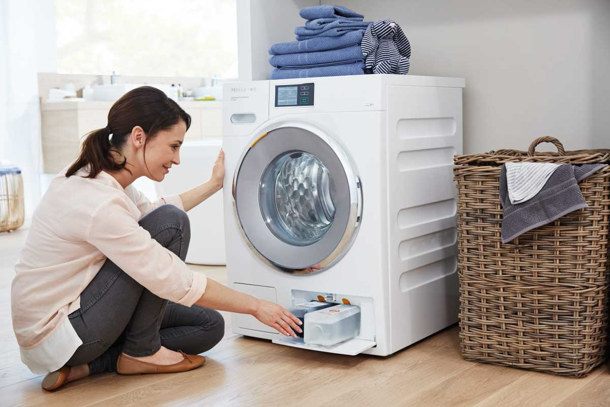 Miele TwinDos Washing Machine