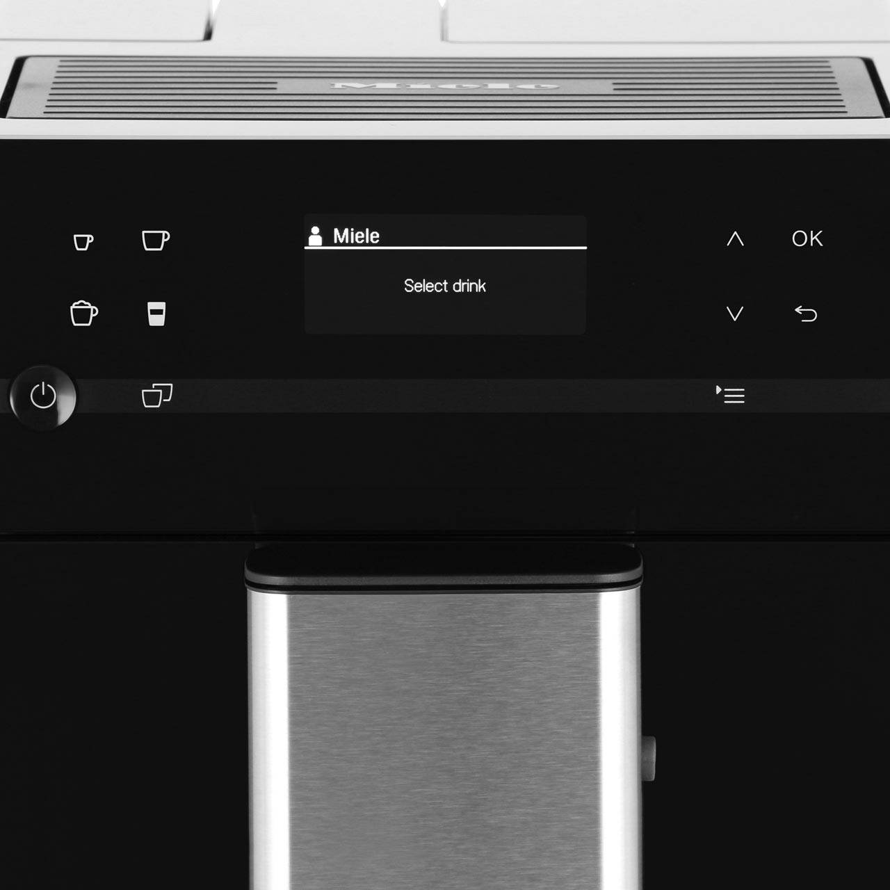 Miele CM5300 Countertop Coffee Machine With OneTouch for Two