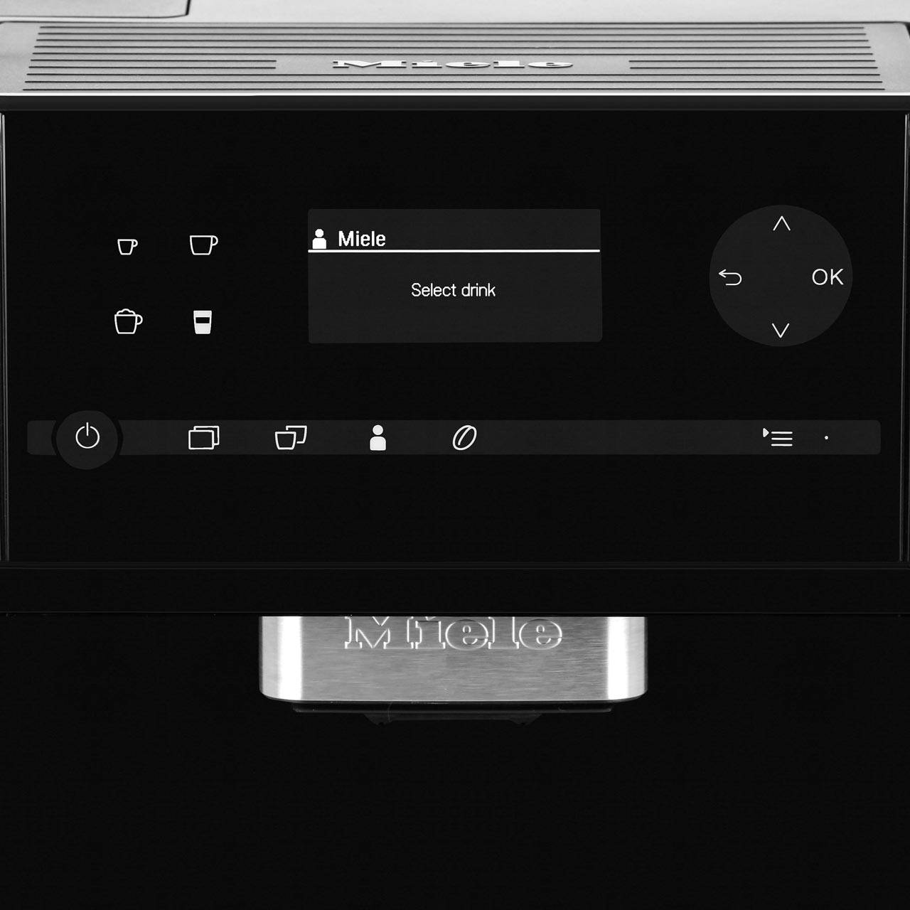 Miele CM6150 Countertop Coffee Machine With OneTouch for Two