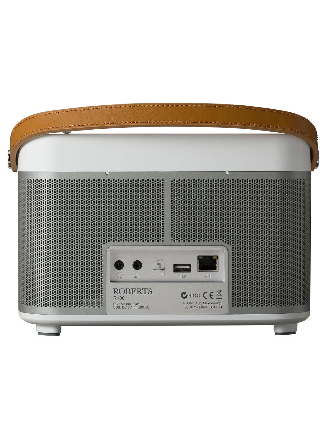 Roberts Radio R100 Wireless Speaker With DAB+/DAB/FM & Internet Radio