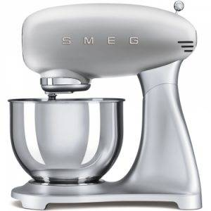 Smeg SMF01SVUK 50's Retro Style Stand Mixer in Silver
