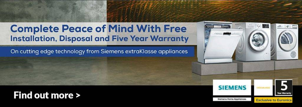 Siemens Free installation and disposal offer