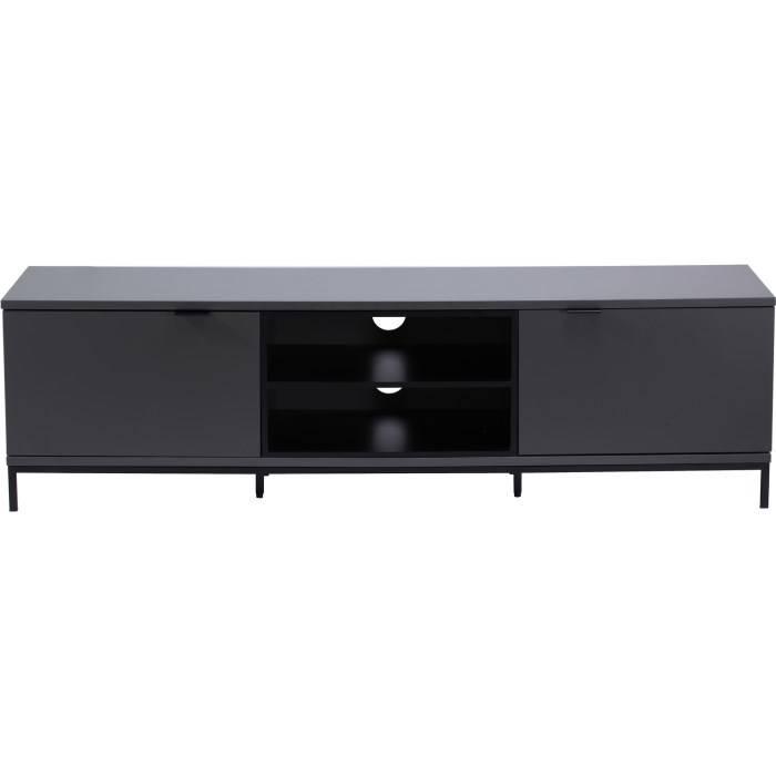 Alphason Designs ADCH1600CH Chaplin Large Open Shelf Unit 1600 Wide