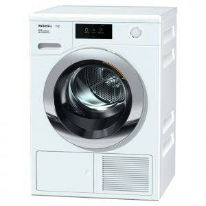 Miele TCR860WP 9KG Heat-Pump Tumble Dryer With M-Touch Controls