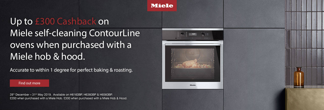 Miele cooking cashback