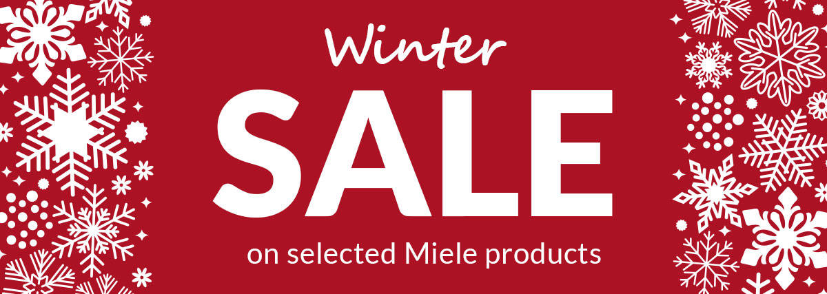 Miele Winter Sale at Gerald Giles