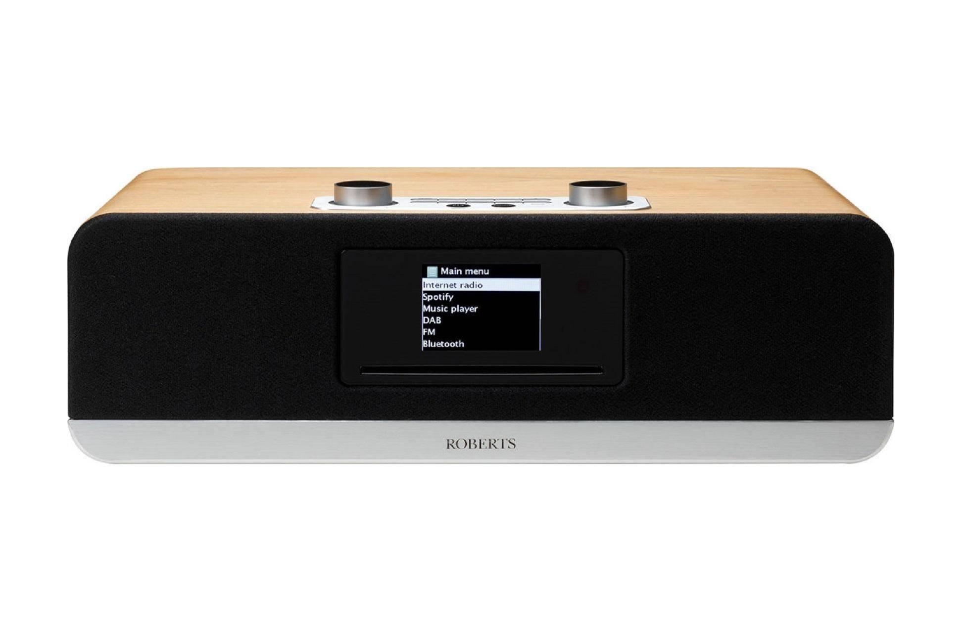 Roberts Radio Stream 67 Smart Audio System - Oak