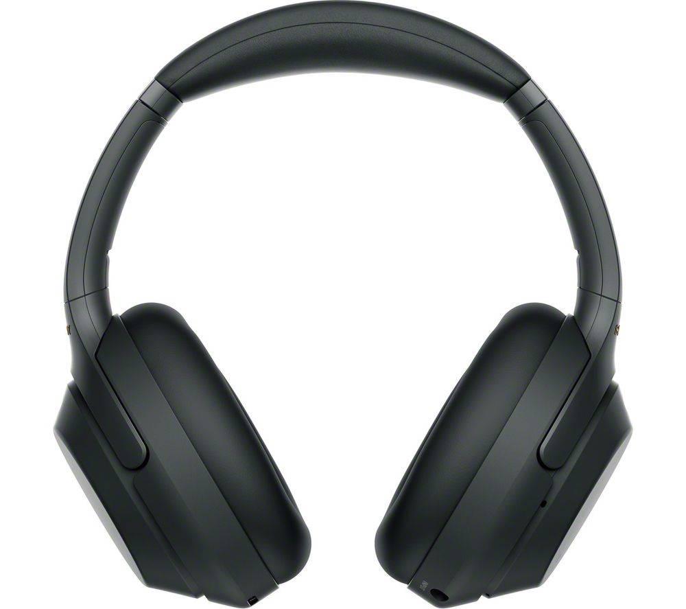 c46b8cef618 Sony WH1000XM3B Wireless Noise Cancelling Headphones - Black ...
