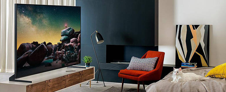 Samsung QLED 8K - see the picture, not the TV