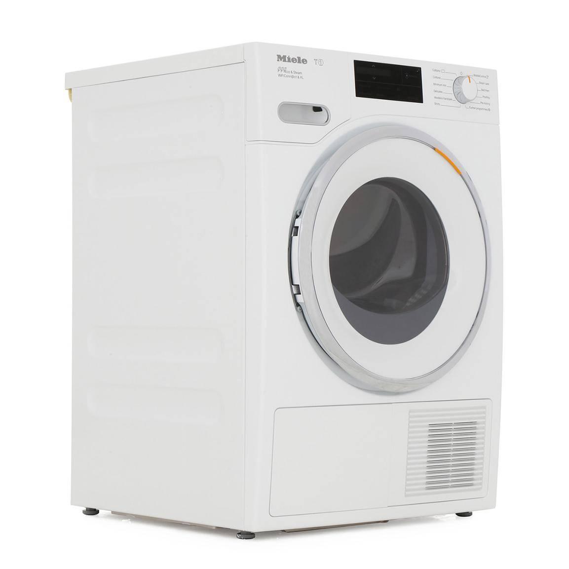 Miele Twj680wp 9kg Heat Pump Tumble Dryer With Steamfinish