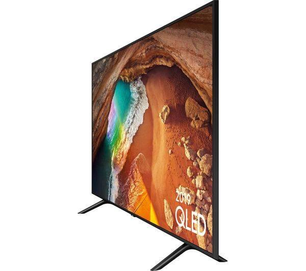 Samsung QE55Q60RATXXU 55 inch QLED Ultra HD Q HDR Smart 4K TV with Ambient  Mode