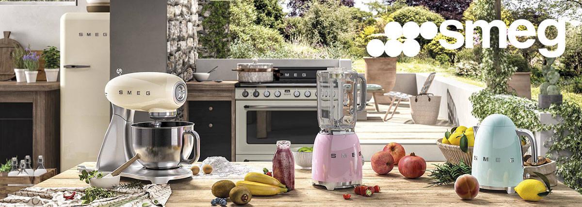 Smeg appliances at Gerald Giles