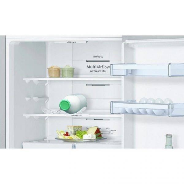 bosch kgn34xl35g no frost fridge freezer 60cm wide. Black Bedroom Furniture Sets. Home Design Ideas