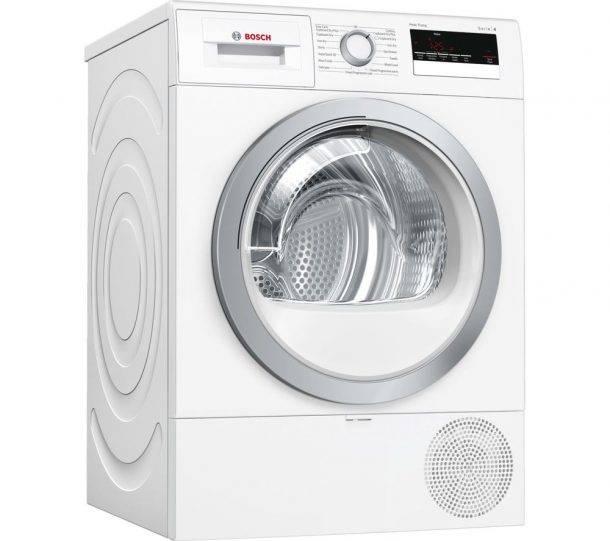 Bosch WTR85V21GB 8KG Heat Pump Tumble Dryer