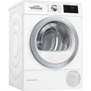 Bosch WTWH7660GB 9kg Condenser Heat Pump Tumble Dryer with Self cleaning
