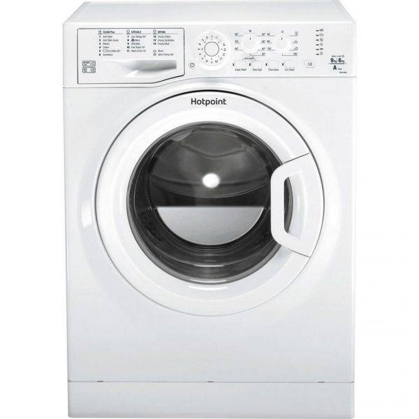 Hotpoint FDEU9640P 1400 Spin 9kg Wash 6kg Dry Washer Dryer