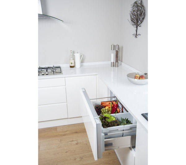Hotpoint NCD191I Integrated 90cm Fridge Drawers With 2 Individual Drawers
