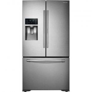 Samsung RF23HTEDBSR American Style Fridge Freezer with showcase door