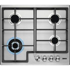 Zanussi ZGH66424XX Gas Hob - 4 Burners