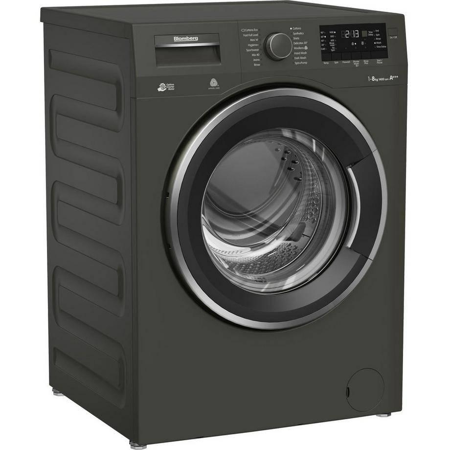 Blomberg LWF284421G 1400 Spin 8kg Washing Machine - graphite