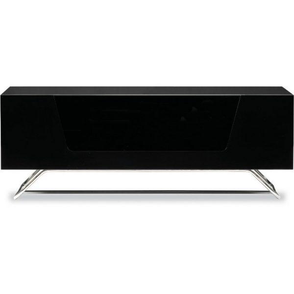 "Alphason Designs CRO21000CBBLK Chromium Black Tv Stand for up to 50"" Screen"