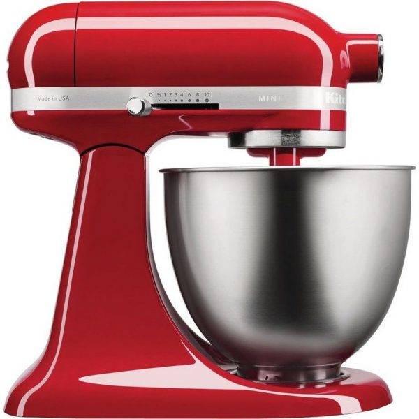 KitchenAid Mini Stand Mixer - Empire Red 5KSM3311XBER