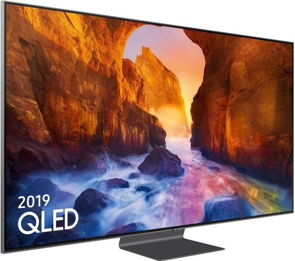 Samsung QE75Q90RATXXU 75 inch QLED Direct Full Array Plus UHD Q HDR 2000 Smart 4K TV with One Connect
