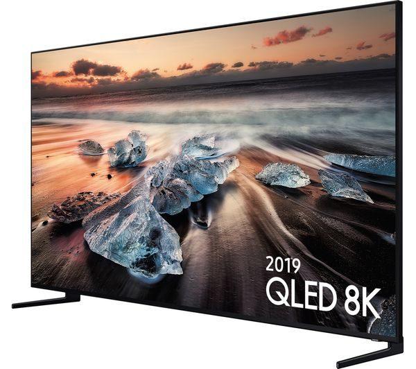 Samsung QE75Q950RBTXXU 75 inch 8K QLED Direct Full Array Elite TV with 8K AI Upscaling