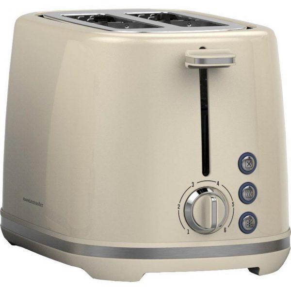 Rangemaster RMKT2S101CM 2 Slice Toaster - Cream
