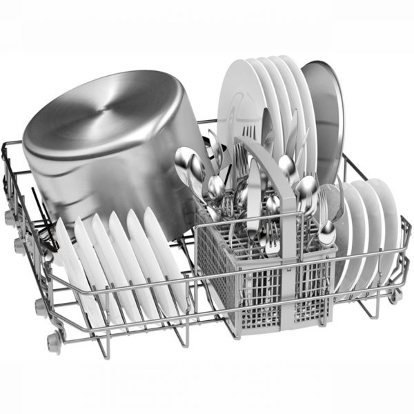 Bosch SMS25AB00G Serie 2 Freestanding Dishwasher - Black